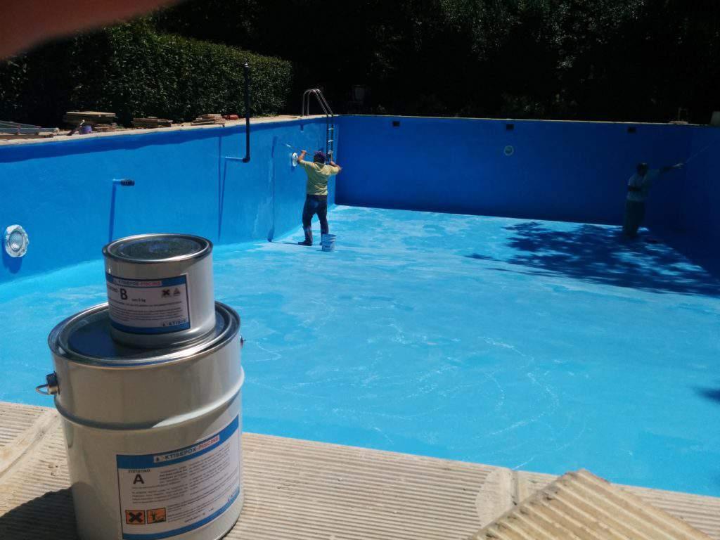 Havuz Zemin Boyası - havuz zemin boyama istanbul