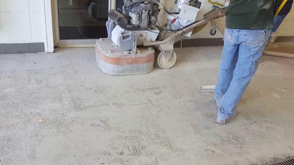 Mat Beton Görünümlü Epoksi Zemin - Mat beton epoksi uygulama min
